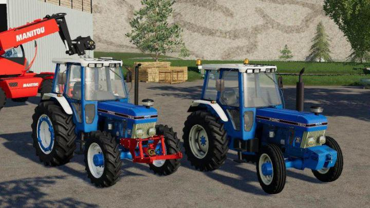 FS19 - Ford 7810 Tractor V1