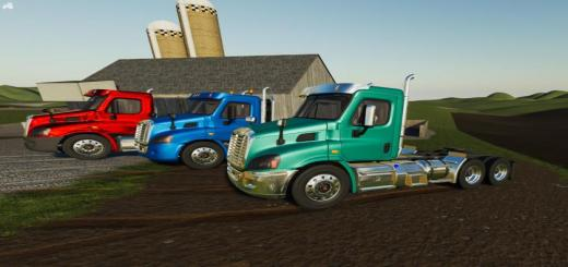 Photo of FS19 – Freightliner Cascadia Day Cab V1