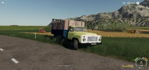 Photo of FS19 – Gaz 53 Truck V1.0.0.1