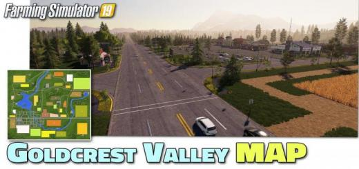 Photo of FS19 – Goldcrest Valley Map V2.01