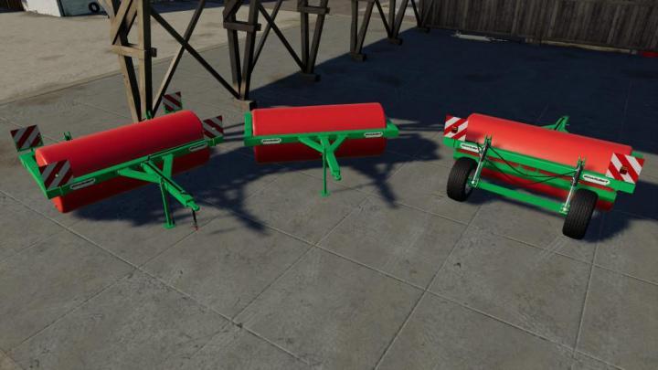 FS19 - Green Roller Classic V2