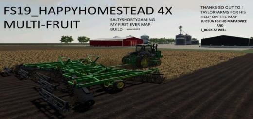 Photo of FS19 – Happy Homestead Map V1