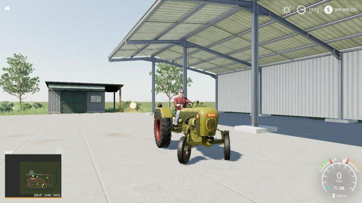 FS19 - Hatz H340 Tractor V1