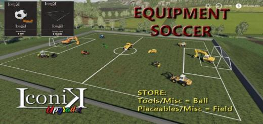 Photo of FS19 – Iconik Soccer Set V1