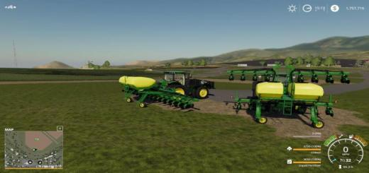 Photo of FS19 – John Deere 1725Ccs 16R30 Planter With Lift Assist Final