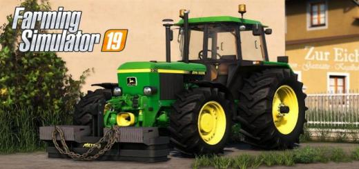 Photo of FS19 – John Deere 3X50 Serie V1