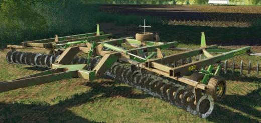 Photo of FS19 – John Deere 630 Disk V1