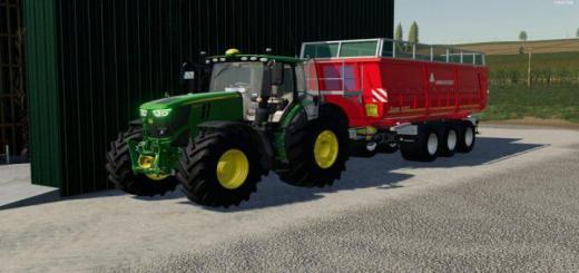 Photo of FS19 – John Deere 6R Tractor V3.5