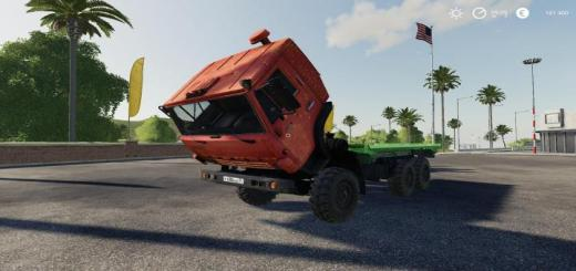 Photo of FS19 – Kamaz 4310 Truck V1.3