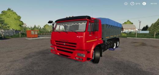 Photo of FS19 – Kamaz 45143-6012 Truck V1.3
