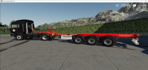 Photo of FS19 – Kassbohrer Trailer Pack V1.3