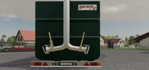 Photo of FS19 – Kotte Garant Frc With Licenseplate And Hoses V1