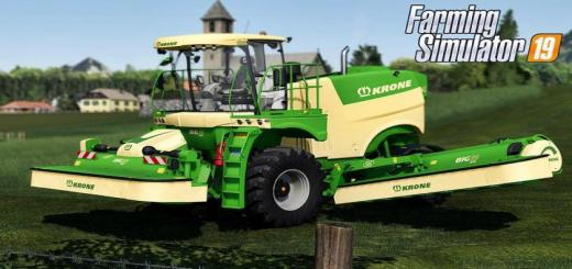 Photo of FS19 – Krone Big M 500 V1