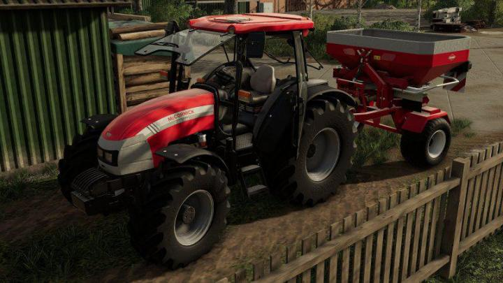FS19 - Kuhn Axis Trailered V1