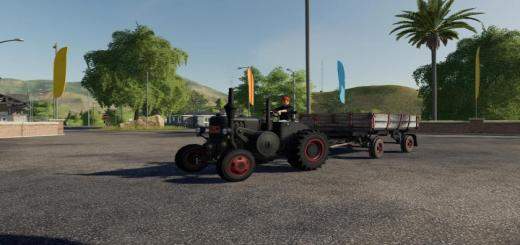 Photo of FS19 – Lanz D9506 Tractor V1