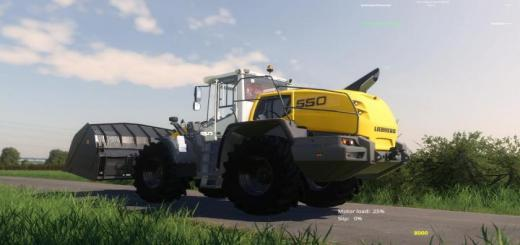 Photo of FS19 – Liebherr 550 Xpower V1