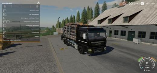 Photo of FS19 – Man Forst Lkw Mp V1.1
