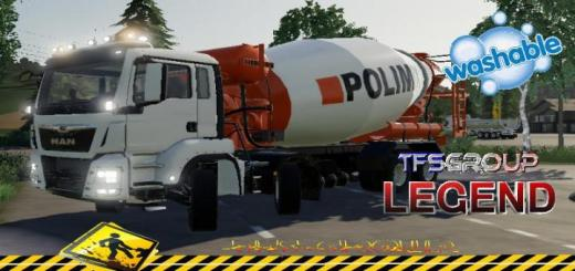Photo of FS19 – Man Toupie Polimix V1.5