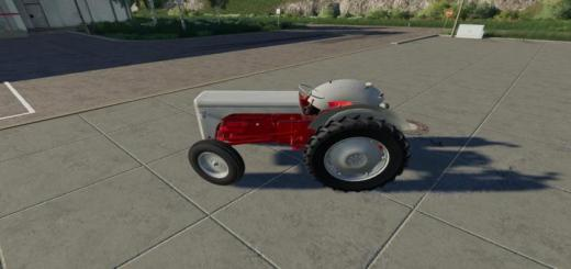 Photo of FS19 – Massey Ferguson Tef20 Tractor V1