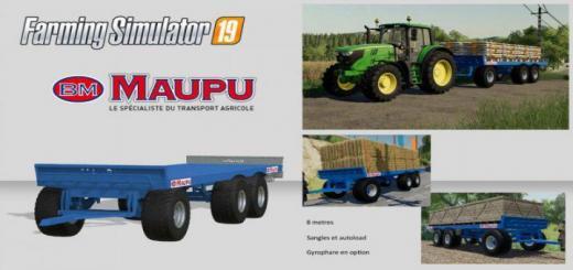 Photo of FS19 – Maupu 8M Autoload V1