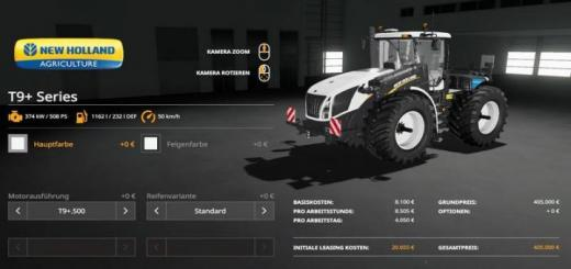 Photo of FS19 – New Holland T9+ Series V1