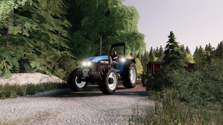 FS19 - New Holland Ts90 Tractor V2.1
