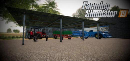 Photo of FS19 – Old Shed Placeable V1