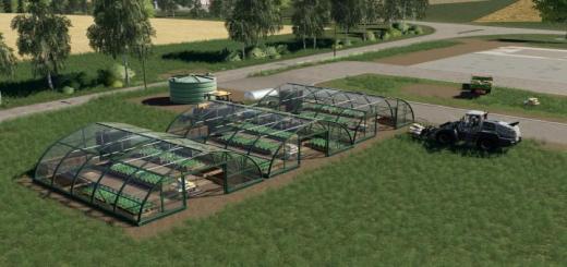 Photo of FS19 – Onion Greenhouses V1