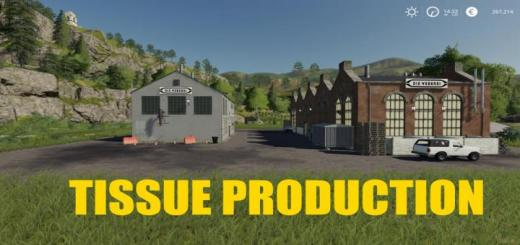 Photo of FS19 – Placeable Tissue Production V1.0.5