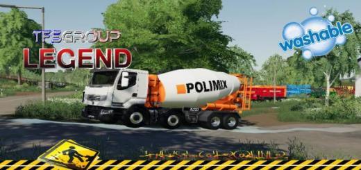 Photo of FS19 – Renault Premium 520Dxi Concrete Mixer V1.5