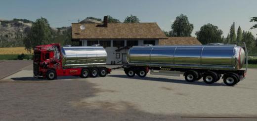 Photo of FS19 –  Scania Liquid Transport V1.3