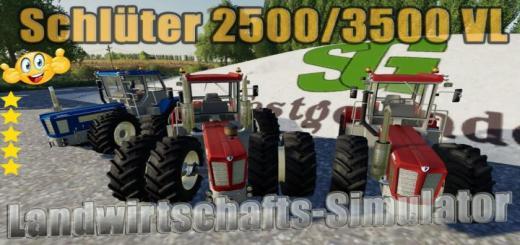 Photo of FS19 – Schluter Super 2500/3500 Tractor V1