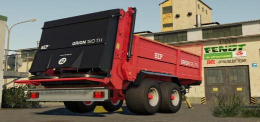 Photo of FS19 – Sip Orion 120Th Trailer V1