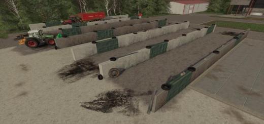 Photo of FS19 – Small Bunker Silo Set V1