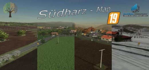 Photo of FS19 – Sudharz Map V1