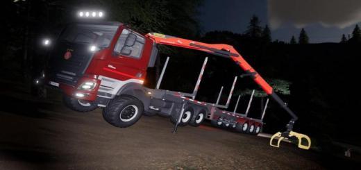 Photo of FS19 – Tatra Phoenix E6 Forest Truck V1