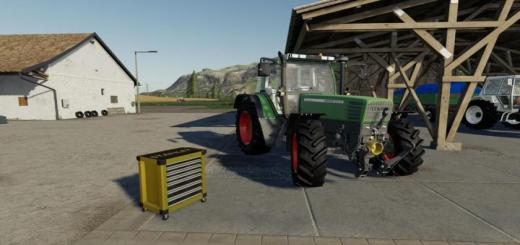 Photo of FS19 – Tool Trolley V1