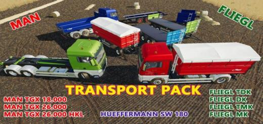 Photo of FS19 – Transport Pack V1.0.0.2