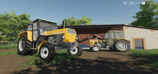 Photo of FS19 – Ursus 902 Yellow Tractor V2
