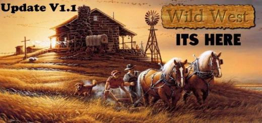 Photo of FS19 – Wild West 16X Map Update V1.1