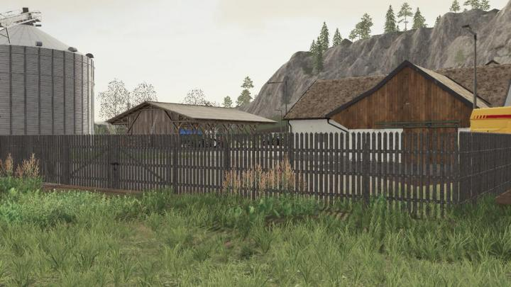 FS19 - Wooden Gates And Fences V1