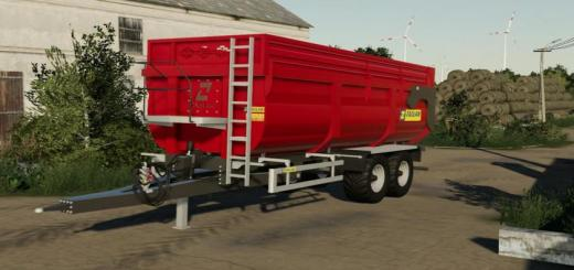 Photo of FS19 – Zaslaw D-764-21 1R 2017 Trailer V1