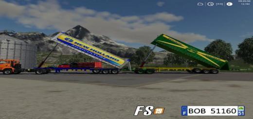 Photo of FS19 – 2 Dump Trailers Pack V2