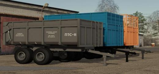 Photo of FS19 – 2Pts-11 Sarmat Trailer V1.0.0.2