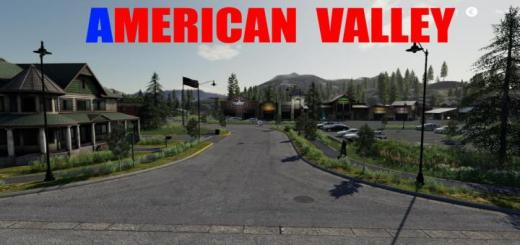 Photo of FS19 – American Valley Map V1