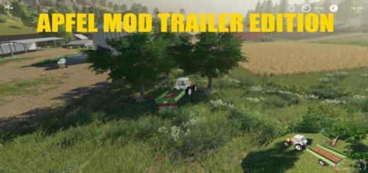 Photo of FS19 – Apfel Mod Trailer Edition V1