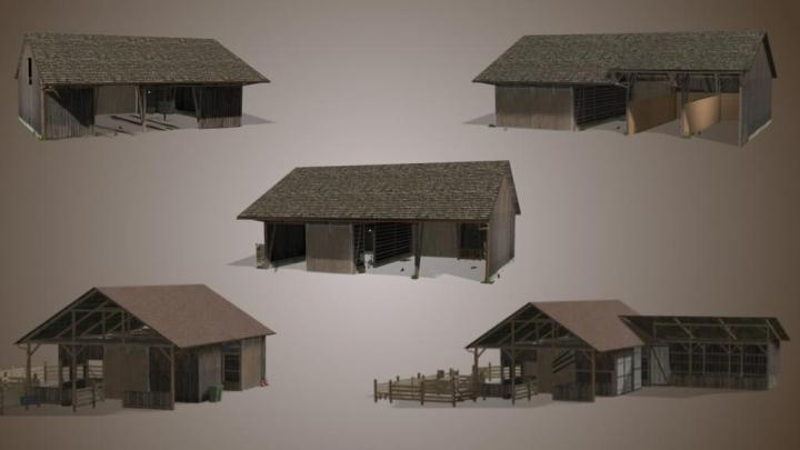 FS19 - Barn Package V1