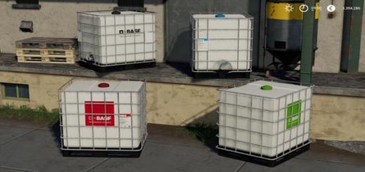 Photo of FS19 – Basf Ibc Pallet Tanks V1