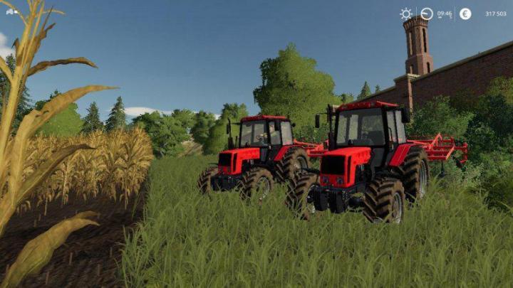 FS19 - Belarus 826 Tractor V1