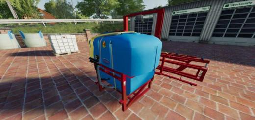 Photo of FS19 – Biardzki 600L Blue V1